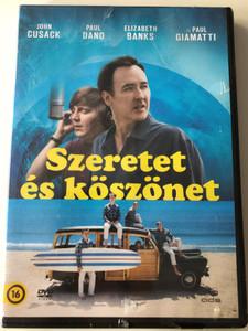 Love & Mercy DVD 2014 Szeretet és köszönet / Directed by Bill Pohlad / Starring: John Cusack, Paul Dano, Elizabeth Banks (5996471001927)