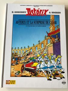 Astérix et la Surprise de Cesar DVD 1985 / Directed by Paul & Gaetan Brizzi / Starring: Roger Carel Pierre, Tornade Pierre, Mondy (AsterixVSCaesarFrenchDVD)