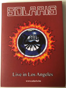Solaris - Live in Los Angeles DVD 1995 Recorded at Variety Arts Center on 11 November 1995 / Syn-Phonic Music, Periferic Records (SolarisDVD)