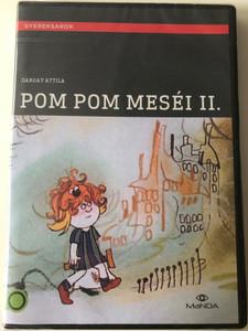 Pom Pom's Stories 2 - Pom Pom meséi II. DVD 1982 / Directed by Dargay Attila / Written by Csukás István / Hungarian Voices: Petrik József, Kovács Klára, Csákányi László / Hungarian Animated series (5999884681625)