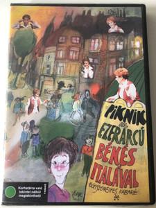 Piknik az ezerarcú Békés Italával DVD 2008 Egyszemélyes kabaré / Madách Színházban készült felvételek / Békés Itala zeneszámokat ad elő / Music by Fehér András (5999882530079)