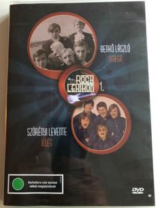 Rock Lexikon 1. DVD Benkő László - Omega Szörényi Levente - Illés / Directed by Seres Tamás, Varga Zs. Csaba / Hungarian Lexicon of Rock / Az Omega és az Illés (5996357343752)