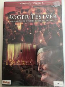 Roger Testvér - Találkozások a Taizéi Roger Testvérrel DVD 1993 Meeting brother Roger / Keresztény Filmtár I. / Rencontre avec Frére Roger, de Taizé (5999883203132)
