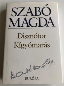 Disznótor - Kígyómarás by Szabó Magda / 2 Hungarian Short novels / Európa Könyvkiadó 2008 / Hardcover (9789630785624)