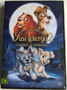 Lady and the Tramp 2 Scamp's Adventure DVD 2000 Susi és Tekergő 2 - Csibész a csavargó / Directed by Darrell Rooney, Jeannine Roussel / Starring: Scott Wolf, Alyssa Milano, Jeff Bennett (5996514019315)