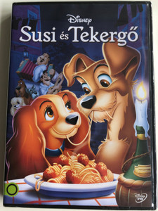 Lady and the Tramp (Susi és Tekergő) DVD 1955 / Directed by Clyde Geronimi, Wilfred Jackson, Hamilton Luske / Starring: Barbara Luddy, Larry Roberts, Bill Thompson, Dallas McKennon, Bill Baucom, Verna Felton, Peggy Lee (5996514019308)