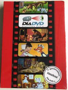 DiaDVD 2009 Diafilmek DVD-n / A gyerekirodalom klasszikusai: Maszat és pajtásai, Öreg néne őzikéje, Két kicsi kacsapásztor, Koldus és királyfi, Rosszcsont cica / Xéniart / 5 hungarian slide projector stories on DVD (5999883131350)