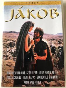 The Bible: Jacob DVD 1994 A Biblia: Jákob - Bibliai film / Directed by Peter Hall / Starring Matthew Modine, Sean Bean, Lara Flynn Boyle, Joss Ackland (5999546332476)