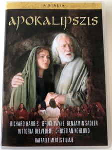 The Bible: Apocalypse DVD 2002 A Biblia: Apokalipszis / Directed by Raffaele Mertes / Starring: Richard Harris, Bruce Payne, Benjamin Sadler, Vittoria Belvedere (5999546332452)