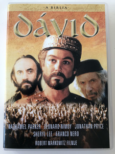 The Bible: David DVD 1997 A Biblia: Dávid / Directed by Robert Markowitz / Starring: Nathaniel Parker, Leonard Nimoy, Jonathan Pryce, Sheryl Lee (5999546332445)