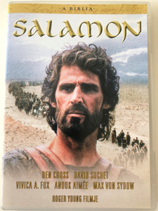 The Bible: Solomon DVD 1997 A Biblia: Salamon / Directed by Roger Young / Starring: Ben Cross, Anouk Aimée, Vivica A. Fox, Max von Sydow (5999546332520)