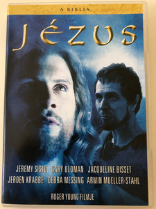 The Bible: Jesus DVD 1999 A Bibla: Jézus / Directed by Roger Young / Starring: Jeremy Sisto, Jacqueline Bisset, Gary Oldman, Debra Messing (5999546332278)