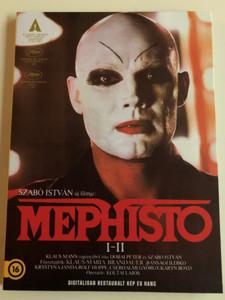 Mephisto DVD 1981 / Director: Szabó István / Starring: Klaus Maria Brandauer, Krystyna Janda, Bánsági Ildikó, Rolf Hoppe, Cserhalmi György / 1982 Oscar winner (5999887816581)
