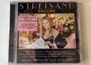 Streisand – Encore: Movie Partners Sing Broadway / With: Alec Baldwin, Antonio Banderas, Jamie Foxx, Anne Hathaway, Chris Pine, Daisy Ridley, Patrick Wilson / Columbia Audio CD 2016 / 88985339752