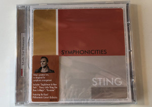 Symphonicities - Sting / StIng's greatest hits, re-imagined for symphonic arrangement. Includes ''Englishman in New York'', ''Every Little Thing She Does Is Magic'', ''Roxanne'' / UMG Recordings. Inc. Audio CD 2010 / 06025 274 5553