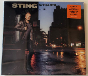 Sting – 57th & 9th / Sting's First Rock/Pop Album In Over A Decade / A&M Records Audio CD 2016 / 00602557174496