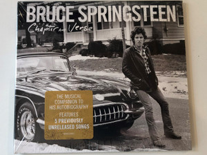 Bruce Springsteen – Chapter And Verse / The Musical Companion To His Autobiography / Features 5 Previously Unrealeased Songs / Columbia Audio CD 2016 / 88985358202