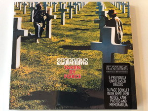 Scorpions – Taken By Force / 50th Anniversary Deluxe Editions / 5 Previously Unreleased Tracks / 16 Page Booklet with New Liner Notes, Rare Photos and Memorabilia / BMG Audio CD 2015 / 4050538159479