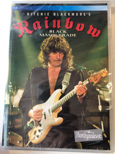 Ritchie Blackmore's Rainbow DVD 1995 Black Masquerade / Directed by Gerd F. Schultre / Too late for tears, Still I'm sad, Ariel, Greensleeves / Eagle Vision Classics (5036369822897)