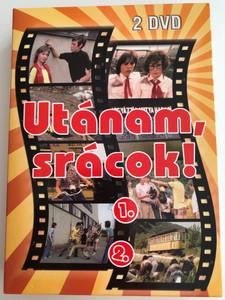 Utánam, srácok! 2 DVD SET 1975 Follow me guys! / Directed by Fejér Tamás / Starring: Losonczi Gábor, Berkes Zoltán, Kiss Gabi, Szergej Elisztratov / Hungarian mini series (5999546334166)
