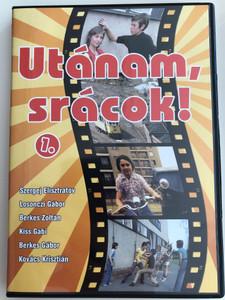 Utánam, srácok 1. DVD 1975 / Directed by Fejér Tamás / Starring: Losonczi Gábor, Berkes Zoltán, Kiss Gabi, Szergej Elisztratov / Hungarian mini series vol 1 (5999546334043)
