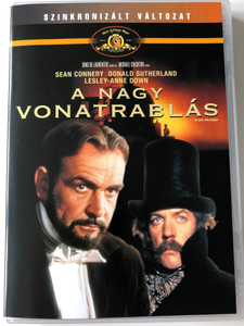 The Great Train Robbery DVD 1978 A nagy vonatrablás / Directed by Michael Crichton / Starring: Sean Connery, Donald Sutherland, Lesley-Anna Down (5996255724608)