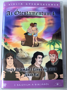Az Ótestamentum 4 DVD The Old Testament 4 - Il Vecchio Testamento / 1. Isaac and Ishmael 2. Jacob and Esau 3. Sons of Jacob / Directed by Yung Wo Young, Hunc Sanc Man / 3 episodes (5999885039371)
