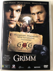 The Brothers Grimm DVD 2005 Grimm / Directed by Terry Gilliam / Starring: Matt Damon, Heath Ledger, Monica Bellucci (5999544151499)