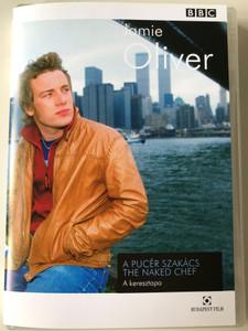 Jamie Oliver - The Naked Chef DVD 2001 A Pucér Szakács - A keresztapa / Szendvics hátszínszeletből, Tésztasaláta, Sült spárga pancetta-val / Godfather (5999544250543)