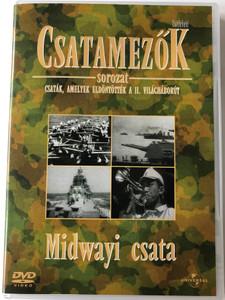 Battlefield: The Battle of Midway DVD 1994 Csatamezők sorozat - Midwayi csata / Csaták, amelyek eldöntötték a II. világháborút (5996051041404)