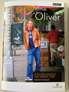Jamie Oliver - The Naked Chef DVD 2000 A Pucér Szakács - Esküvői harangok / Sült zöldséges kuszkusz, Prosciutto-ba csavart lazacfilé / Series 2 Wedding Bells (5999544250536)