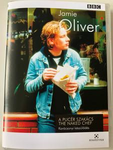 Jamie Oliver - The Naked Chef DVD 2000 A Pucér Szakács - Karácsonyi készülődés / Directed by Patricia Llewellyn / Zsályás burgonyával töltött sültús, Mozarellás zöldsaláta prosciutto-val / Christmas Come Early (5999544250529)