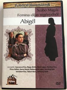 Abigél 2 DVD Abigail - Based on the novel by Szabó Magda / Directed by Zsurzs Éva / Starring: Szerencsi Éva, Nagy Attila, Básti Lajos, Ruttkai Éva, Garas Dezső, Temessy Hédi / Kötelező olvasmányok (5999542819728)