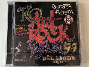 Rio Art Rock Festival '97 / Pär Lindh Project / Violeta De Outono, Quaterna Réquiem / Rock Symphony 2x Audio CD