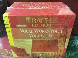 Bach Edition / Vocal Works Vol. I - Vokalwerke / Volume 2 / Brilliant Classics 8x Audio CD, Box Set / 99361