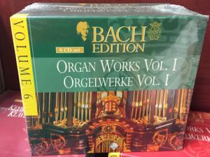 Bach Edition – Volume 6 / Organ Works Vol. I - Orgelwerke Vol. I / Brilliant Classics 8x Audio CD, Box Set / 99365