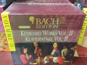 Bach Edition – Volume 13 / Keyboard Works Vol. II - Klavierwerke Vol. II / Brilliant Classics 12x Audio CD, Box Set / 99372