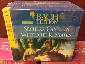 Bach Edition – Volume 7 / Secular Cantatas - Weltliche Kantaten / Brilliant Classics 8x Audio CD, Box Set / 99366