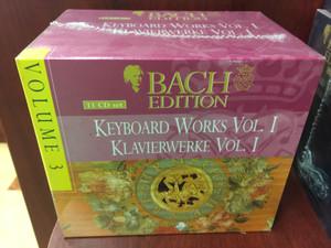 Bach Edition – Volume 3 / Keyboard Works Vol. I - Klavierwerke Vol. I / Brilliant Classics 11x Audio CD, Box Set / 99362