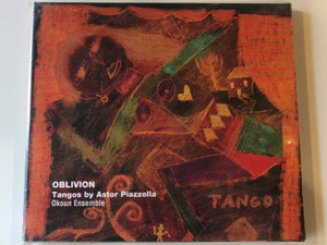 Oblivion - Tangos by Astor Piazzolla / Okoun Ensemble / Budapest Music Center Records Audio CD 2001 / BMC CD 045