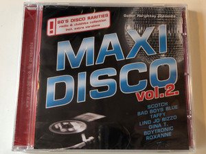 Gabor Hargittay presents Maxi Disco Vol. 2. / Scotch, Bad Boys Blue, Taffy, Linda Jo Rizzo, Gina T., Boytronic, Roxanne... / 80's Disco Rarities radio & clubhits collection incl. extra versions / Hargent Media Audio CD / CD HGPOL 781