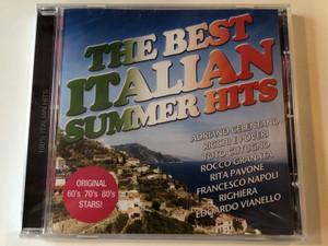 The Best Italian Summer Hits / Adriano Celentano, Ricchi E Poveri, Toto Cutugno, Rocco Granata, Rita Pavone, Francesco Napoli, Righiera, Edoardo Vianello / Frontline Productions & Records Audio CD / 7099981000041