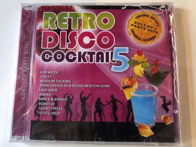 Retro Disco Cocktail 5 / Kim Wilde, Chilly, Modern Talking, John Travolta & Olivia Newton-John, Laid Back, Aneka, Bruce & Bongo, Boney M, Silent Circle, Toto Coelo... / Hargent Media Audio CD / CRCD 111