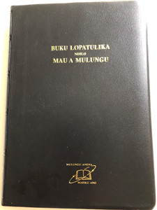 The Bible in Chichewa / Revised Nyanja Union Version / Buku Lopatulika Ndilo Mau A Mulungu / Black Vinyl Bound 2013 / UBS 062 (9789966400529)
