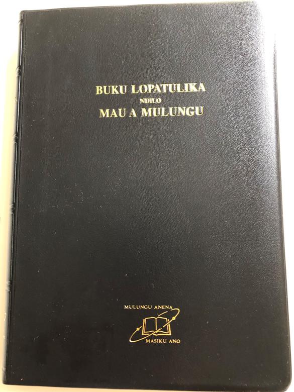 The Bible in Chichewa / Revised Nyanja Union Version / Buku Lopatulika Ndilo Mau A Mulungu / Black Vinyl Bound 2013 / UBS 062 (9789966400529)