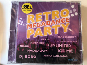 Retro Megadance Party / Masterboy, Whighfield, 2 Brothers On The 4th Floor, Cherry Coke, 2Unlimited, Mo-Do, Haddaway, Dj Bobo, Afrika Bambaataa / Hargent Media Audio CD 2007 / HGCH 708-2
