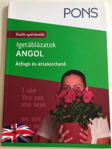 Igetáblázatok - Angol by Samantha Scott / Hungarian edition of Vertabellen Englisch / Átfogó és áttekinthető / Önálló nyelvtanulás / PONS / Klett kiadó 2012 / Learning English for Hungarians (9786155127298)
