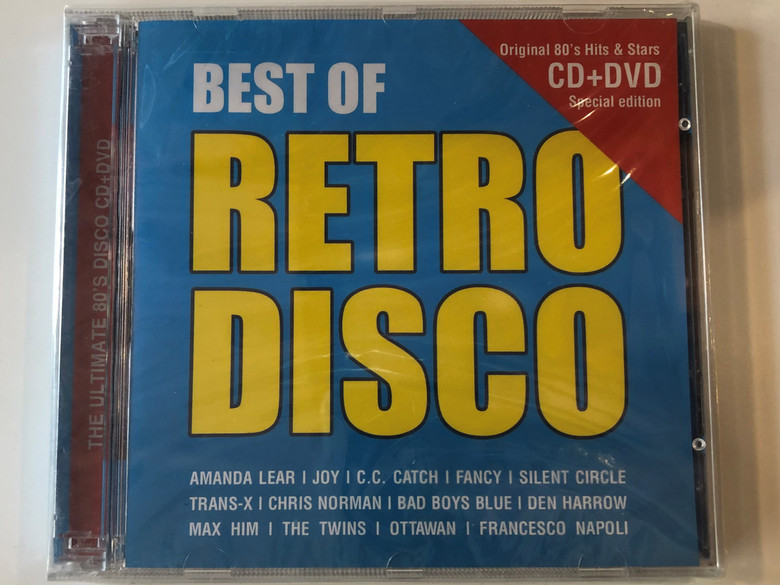Best Of Retro Disco / Amanda Lear, Joy, C.C.Catch, Fancy, Silent Circle, Trans-X, Chris Norman, Bas Boys Blue, Den Harrow, Max Him, The Twins, Ottawan, Francesco Napoli / Hargent Media Audio CD + DVD CD / HG810