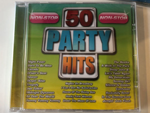 50 Party Hits / Night Fever, Born To Be Alive, Xanadu, Driver's Seat, Spacer, Stayin' Alive, Tragedy, Jive Talkin', Midnight Dynamos, All Over The World, Yummy Yummy Yummy, Nights On Broadway... / Eurotrend Audio CD / CD 142.333