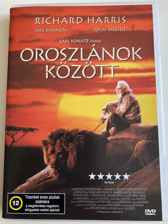 To walk with Lions DVD 1999 Oroszlánok között / Directed by Carl Schultz / Starring: Richard Harris, John Michie, Ian Bannen (5996357339397)